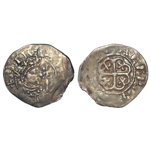 1664 - Stephen silver Penny, 'Watford' type c.1136-45, mint? Moneyer Alfwine, 1.30g, Fine.