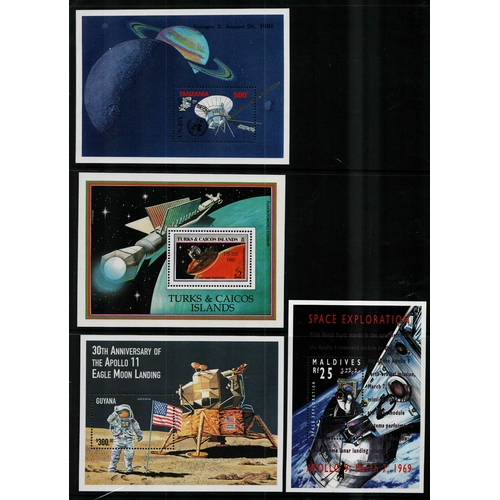 42 - Thematic: Space range of sets singles and sheetlets from British Commonwealth countries to include t...