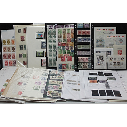57 - Europe box of collections and part collections stockcards and packets good range of issues & countri...