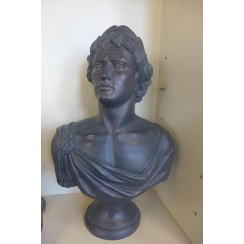 53 - An Austin sculpture 1991 bust of Caesar - 65cm tall...