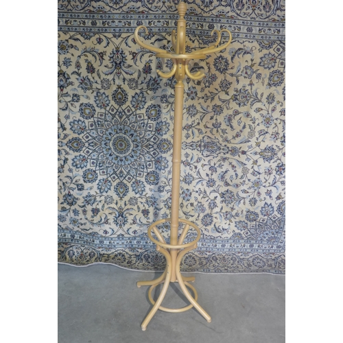60 - A bentwood full height hat/coat stand, 186cm tall...