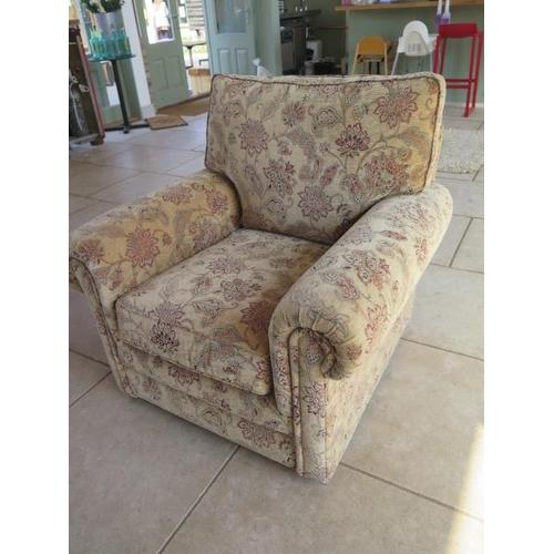 15 - A Parker Knoll Canterbury single chair, 94cm tall x 95cm wide x 92cm deep