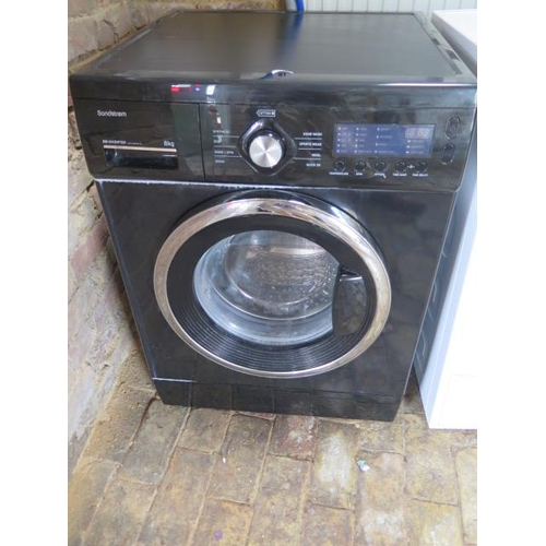 16 - A used Sandstream DD Inverter 8kg washing machine S814WMB13...