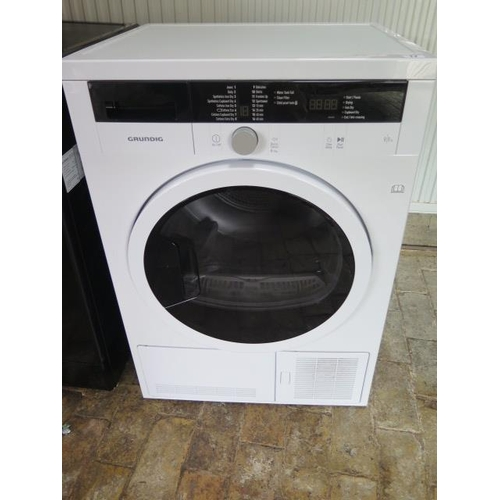 17 - A used Grundig Tumble dryer...