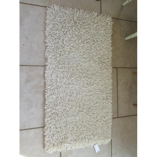 205 - A modern shag pile rug Tentakel made in India, 70cm x 140cm, sold by the Real Rug Company...
