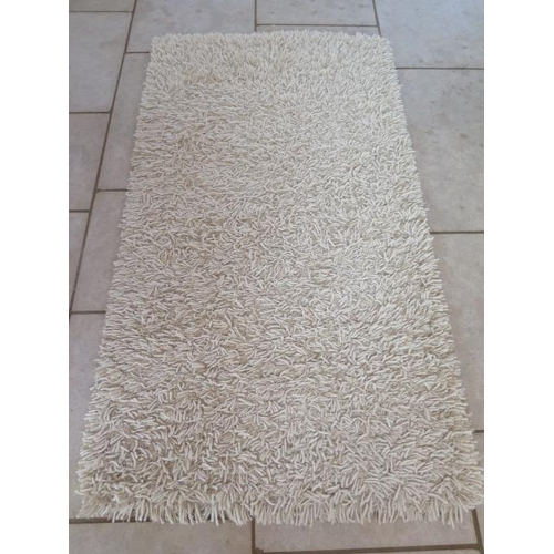 206 - A modern shag pile rug, Tentakel, made in India, 100cm x 200cm, sold by the Real Rug Company...