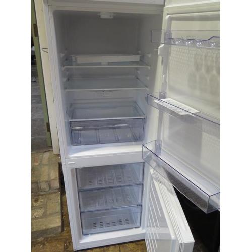 28 - A used Beko Fridge freezer CFG1552W, 152cm tall x 54cm x 55cm