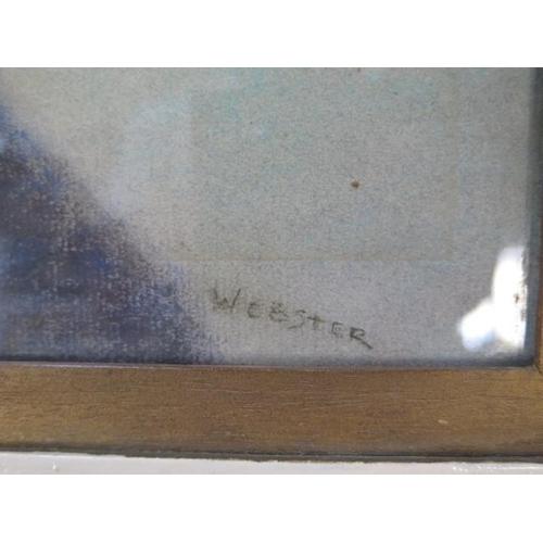 242 - Walter Ernest Webster, Portrait of Mrs Spencer, pastel, picture size 46cm x 37cm, frame size 63cm x ...