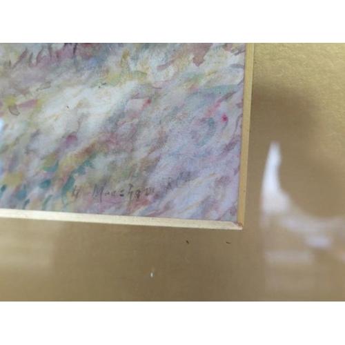 246 - A watercolour, Woodland walk, Henry Measham RCamA 1844-1922 (Exh, RCamA, AR, RI, Walker Gallery, Man...
