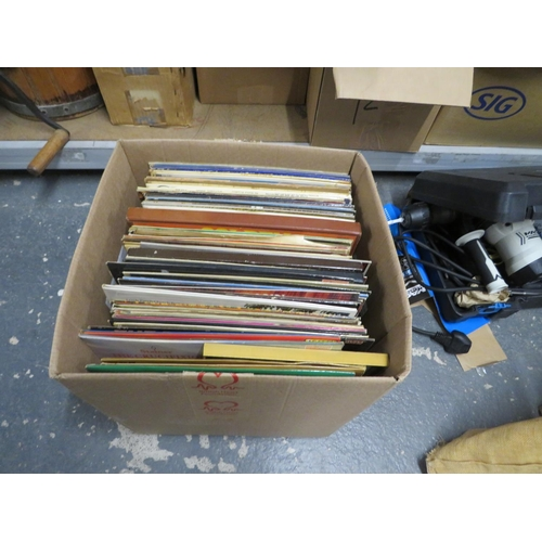 12 - Box of LPs - mostly classical