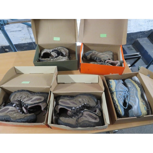 36 - Selection of walking shoes