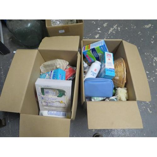 44 - 2 Boxes of toiletries