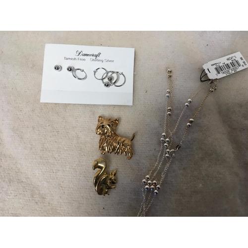 49 - 4 Pieces of Jewellery...