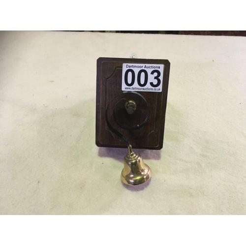 3 - Old Wooden Door Bell Unit...