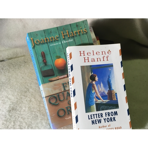 22 - Mixed book bundle including Helene Hanff. Joanne Harris and an Old Trollope....