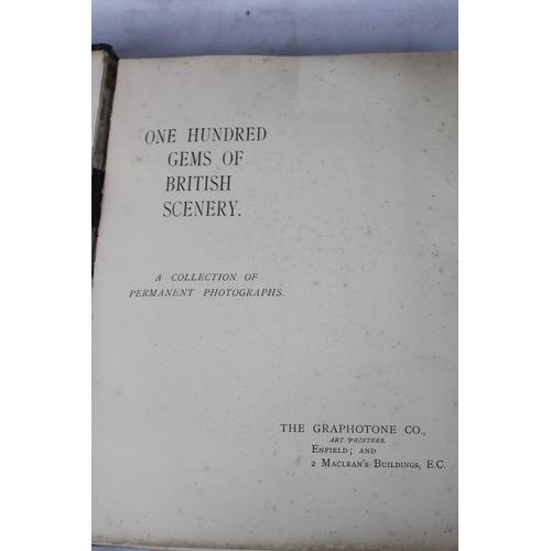 72 - 'One Hundred Gems of British Scenery: a collection of Permanent Photographs', The Graphotone Co, Enf...