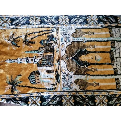 158 - Two prayer mats...