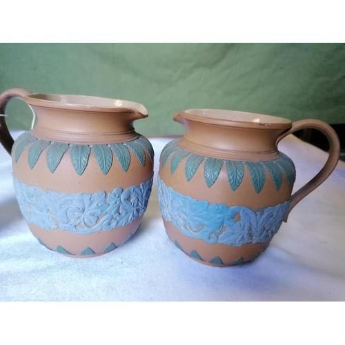 389 - A pair of jugs...