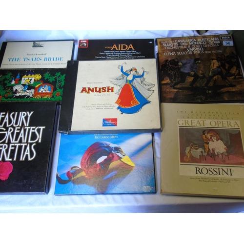 96 - Operatic LP records - seven more boxed sets...
