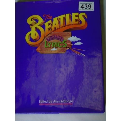 439 - 'The Beatles: Illustrated Lyrics'...