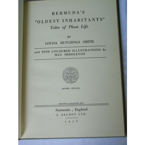 435 - 'Bermuda's Oldest Inhabitants: Tales of Plant Life' by L H Smith, 1938, hc...
