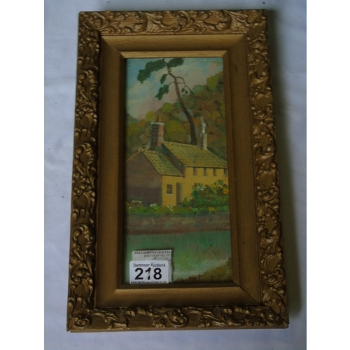 218 - Oil and gouache c 1930-40 in manner of Norman Wilkinson (1878 - 1959)  - LMR travel posters etc, fra...