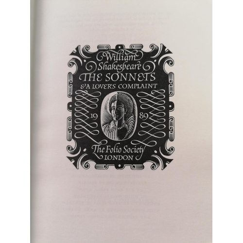 10 - Four Folio Society books, to include Lark rise to Candleford etc.