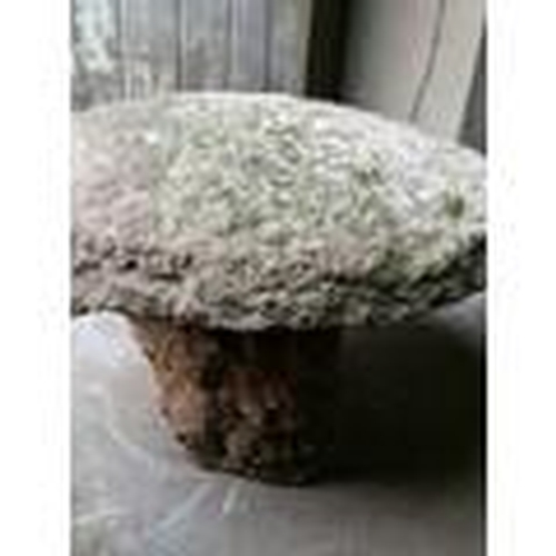 16 - Two old granite staddle stones...