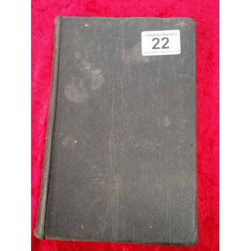 22 - Postmarked Berlin - rare German book