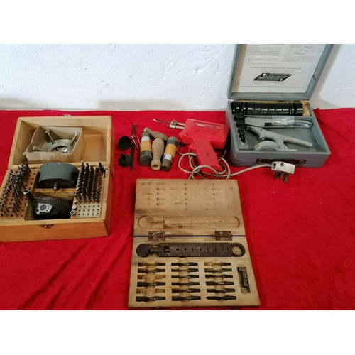 35 - A comprehensive set of Watchmaker's tools in box
