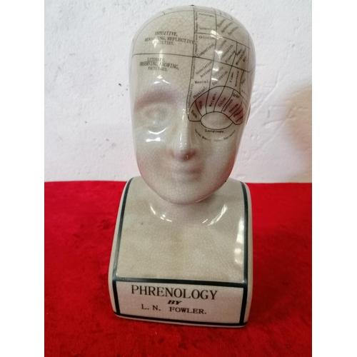 55 - China phrenology head