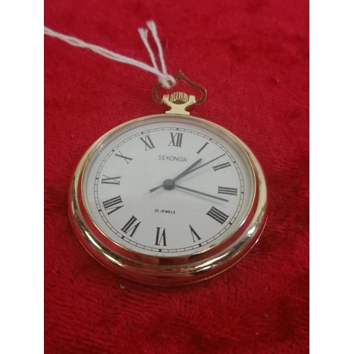 37 - Sekonda pocket watch (working)