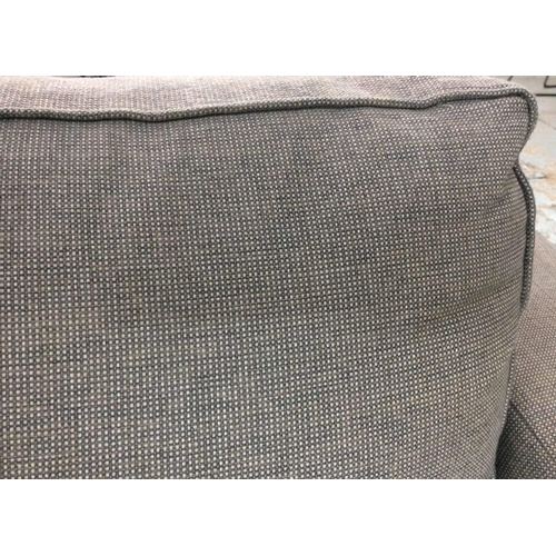 37 - KINGCOME SOFA, grey upholstery, 125cm wide approx....