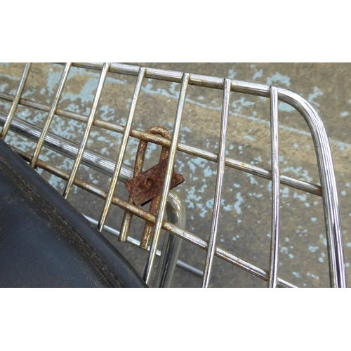 10 - AFTER HARRY BERTOIA, Bertoia side style chairs, a set of eight, 73cm H. (8) (with faults)...