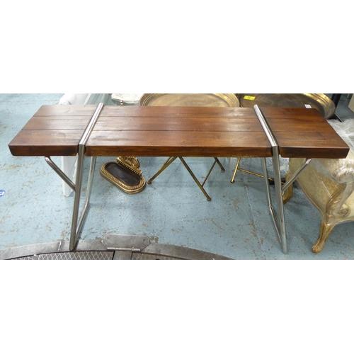 55 - CONSOLE TABLE, contemporary design, 150cm x 40cm x 78cm....
