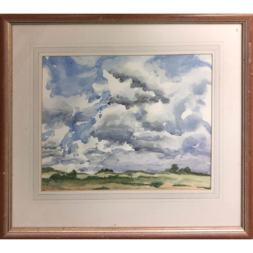 39 - M. DICKSON 'Landscape', watercolour, signed, 28cm x 36cm, framed.