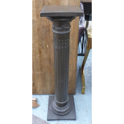 36 - JARDINIERE STAND, of classical form, 29cm W x 29cm D x 106cm H.