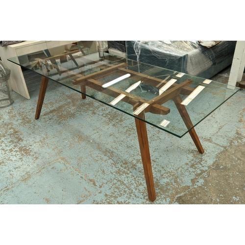 ORGANIC MODERNISM RECOLETTA DINING TABLE, 225cm x 85cm x 75.5cm.