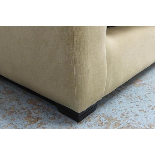 13 - SOFAS & STUFF HAMBLEDON CORNER SOFA, in a Roma fabric, (in three sections), 310cm x 300cm x 70cm H x...