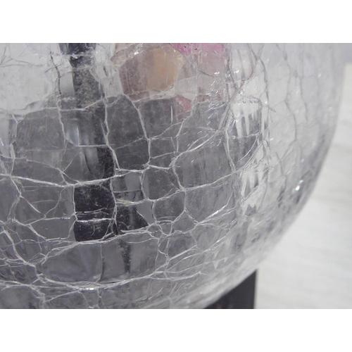 45 - PORTA ROMANA LARGE PASTEUR TABLE LAMPS, a pair, 61cm H. (2)...