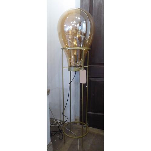 FLOOR LAMP, 1970's Italian style balloon design, 151cm H.