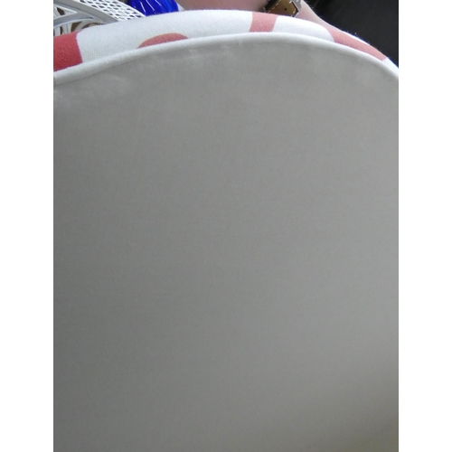 36 - DAVID SEYFRIED HEADBOARD, in an Anna Spiro fabric, approx 137cm.