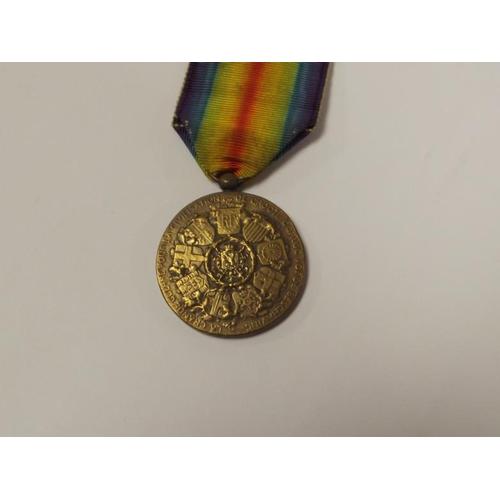 21 - WWI Belgian Victory Medal....