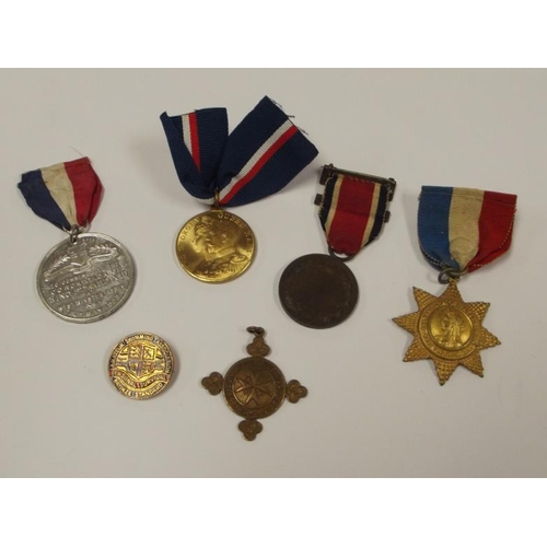22 - Collection of late 19th and early 20th Century British medals and badges....
