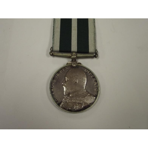 26 - Edward VII Royal Naval Reserves Long Service Good Conduct Medal to D-2752 Seaman 1st Class E. Knight...