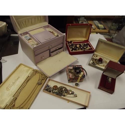 36 - Large quantity of costume jewellery....