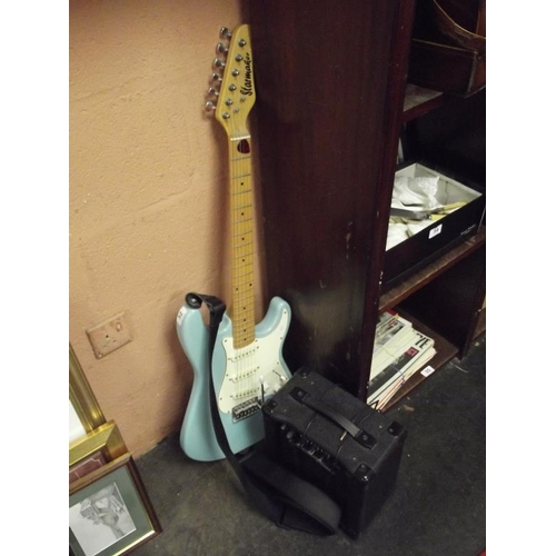 52 - 'Starmaker' electric guitar with 'Starfire' amp....