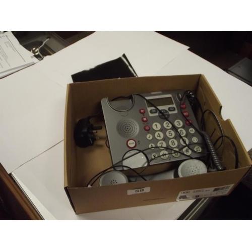 58 - PowerTel880 corded telephone....