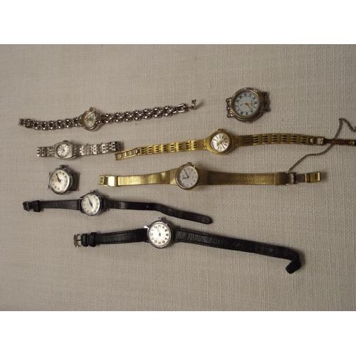 9 - Various ladies wristwatches....