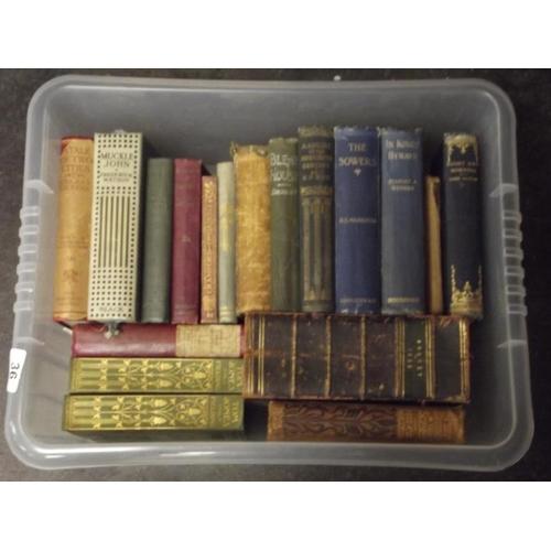 36 - Various vintage books....